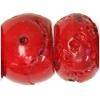 Bamboo Coral Beads Drum Shape Semi-Precious 15-20mm